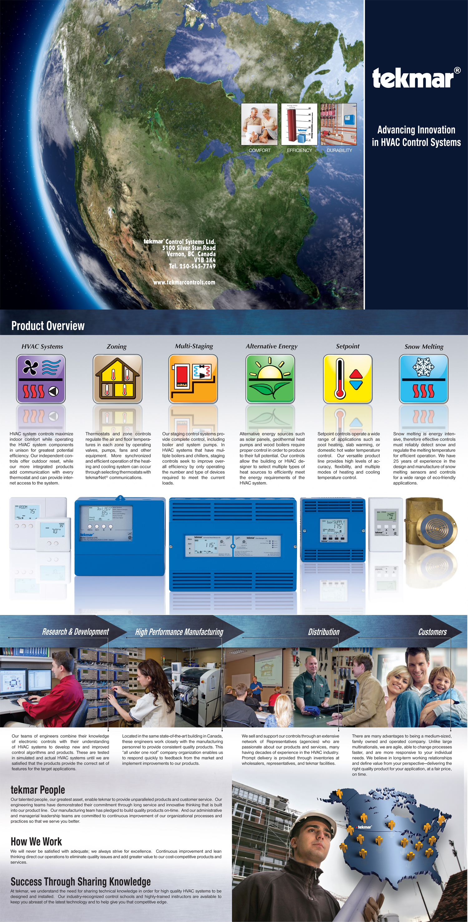 tekmar Corporate Brochure | Twin Creek Media