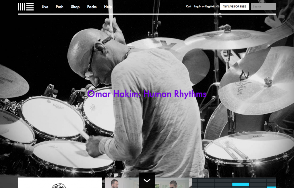 Responsive Web Design Ableton Large