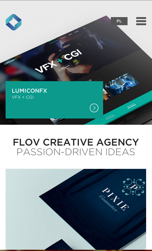 Responsive Web Design FLOV Small