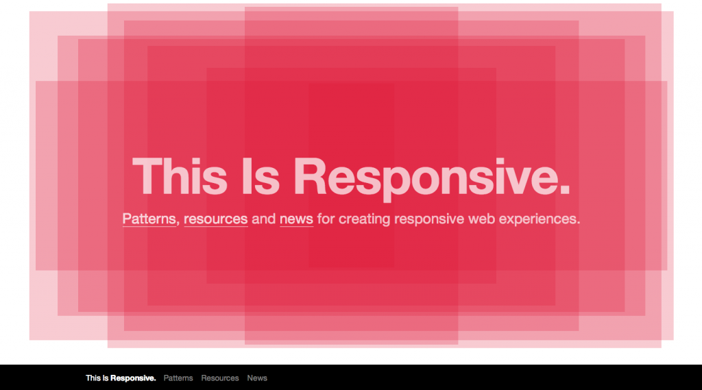This is Responsive Web Design Large